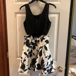 PromGirl Dresses - Two piece formal dress